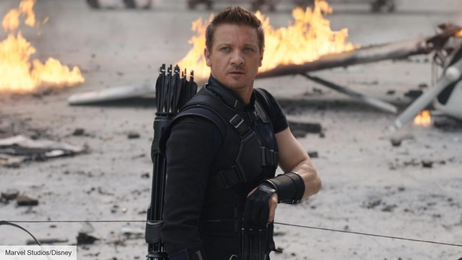 Jeremy Renner as Clint Barton in Avengers: Age of Ultron