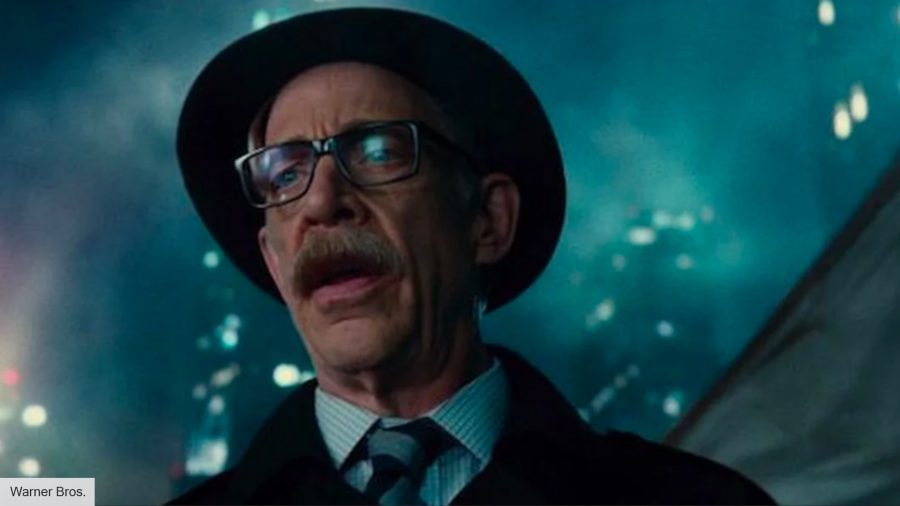 JK Simmons as Commissioner Gordon in Justice League