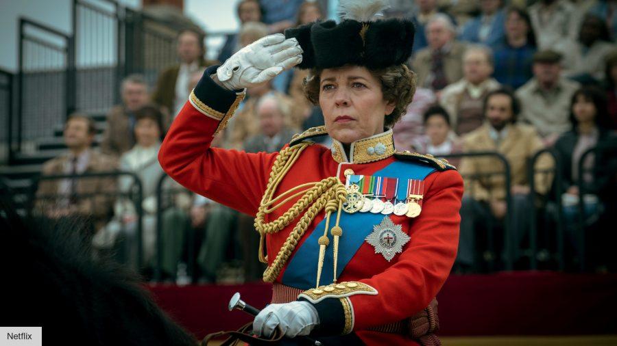 The Crown: Olivia Colman as Queen Elizabeth II