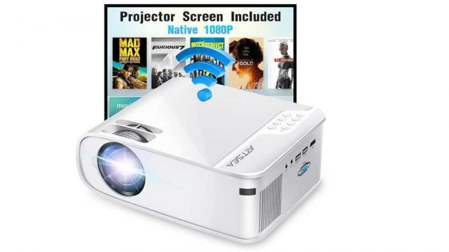 Save 66% off on this ARTSEA 5G Wi-Fi projector
