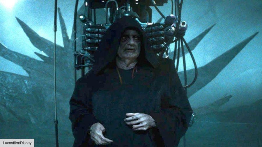 Palpatine in Star Wars: The Rise of Skywalker