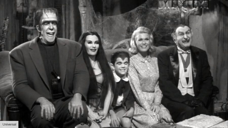 Lily, Herman, and the rest of The Munsters