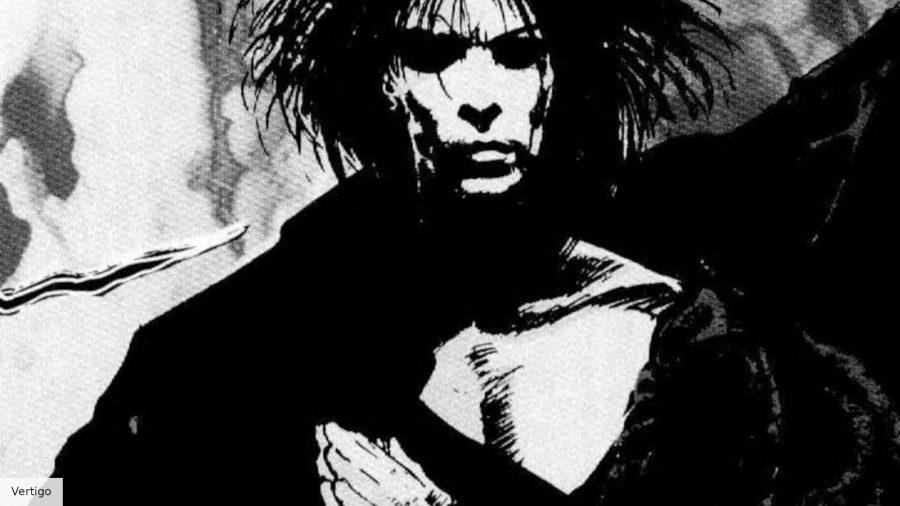 Morpheus in The Sandman comic