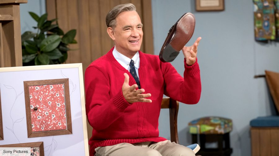 Tom Hanks as Mr Rogers in A Beautiful Day In the Neighbourhood