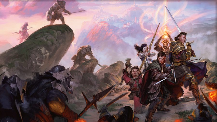 The new Dungeons and Dragons movie has officially wrapped up filming