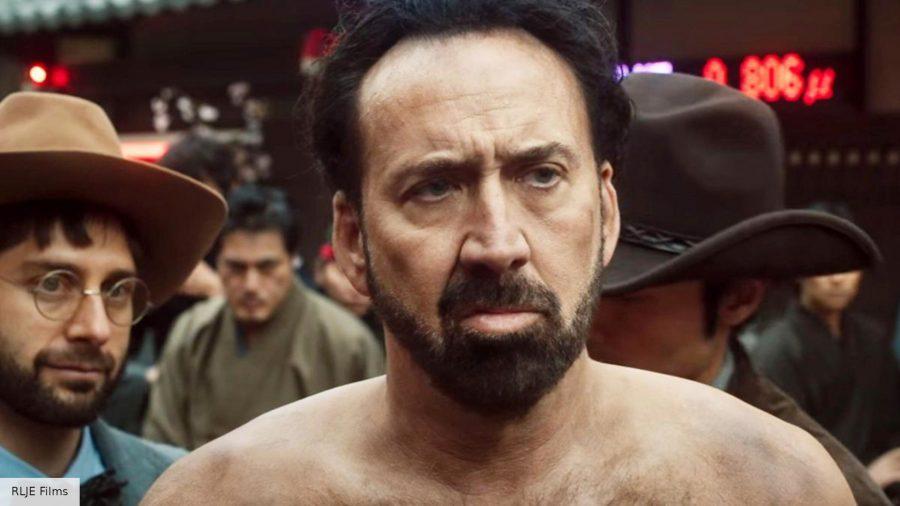 Nicolas Cage in Prisoners of the Ghostland
