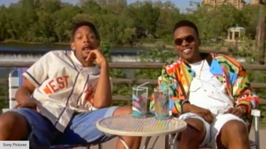 Will Smith and DJ Jazzy Jeff in 'Summertime'