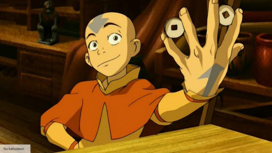 Aang in Avatar: The Last Airbender animated series