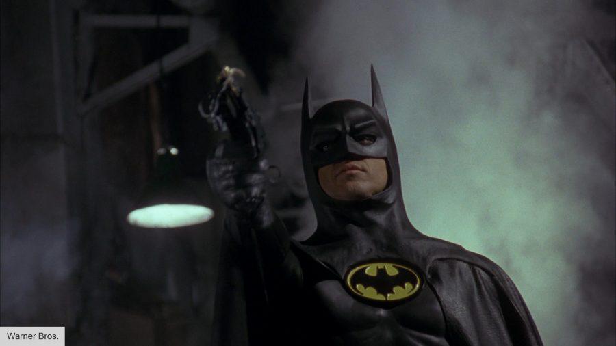 Batman 1989 with grappling hook