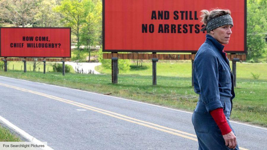 Best drama movies: Three Billboards Outside of Ebbing, Missouri