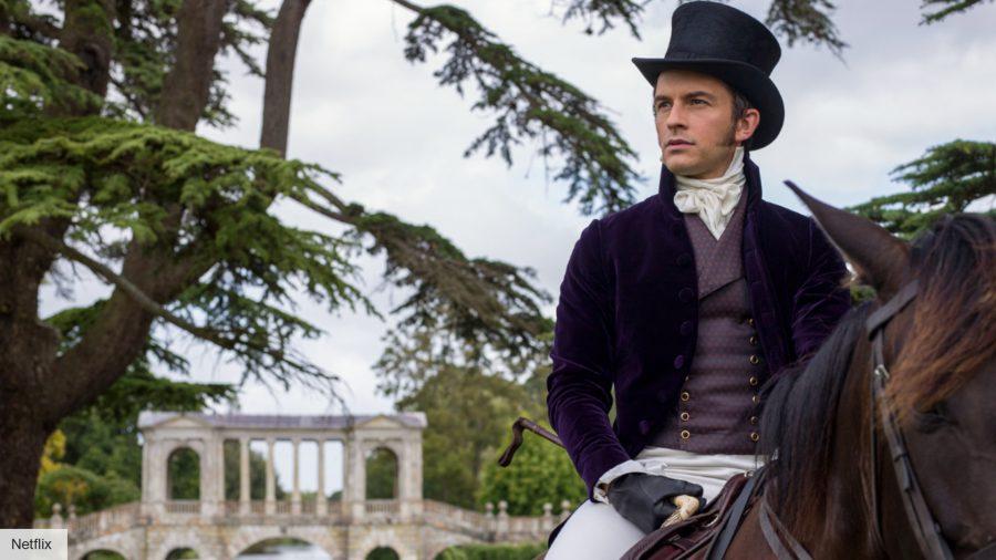 Bridgerton season 2: Anthony Bridgerton on a horse