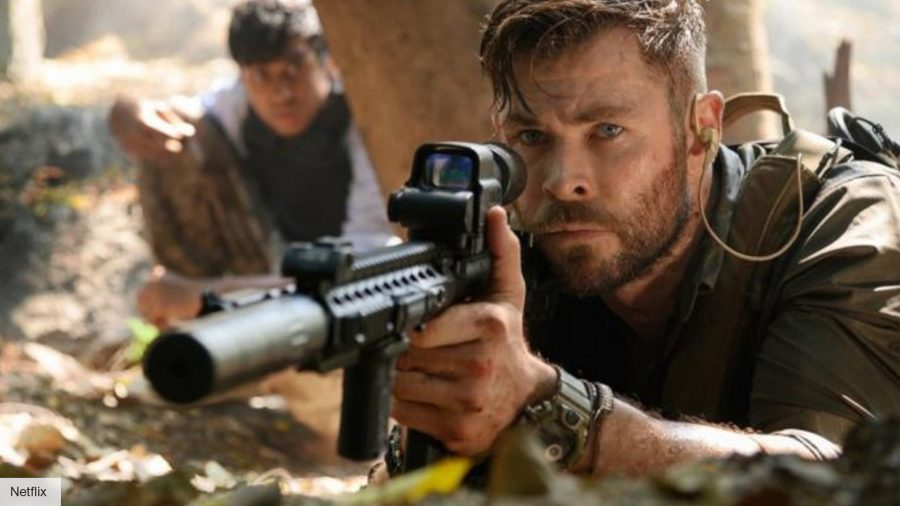 Chris Hemsworth's new workout for Extraction 2