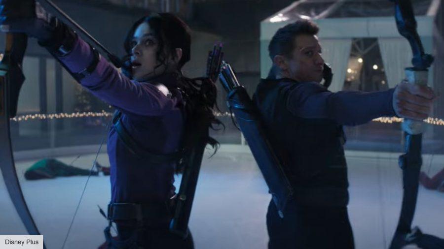 Hawkeye trailer: Kate and Clint