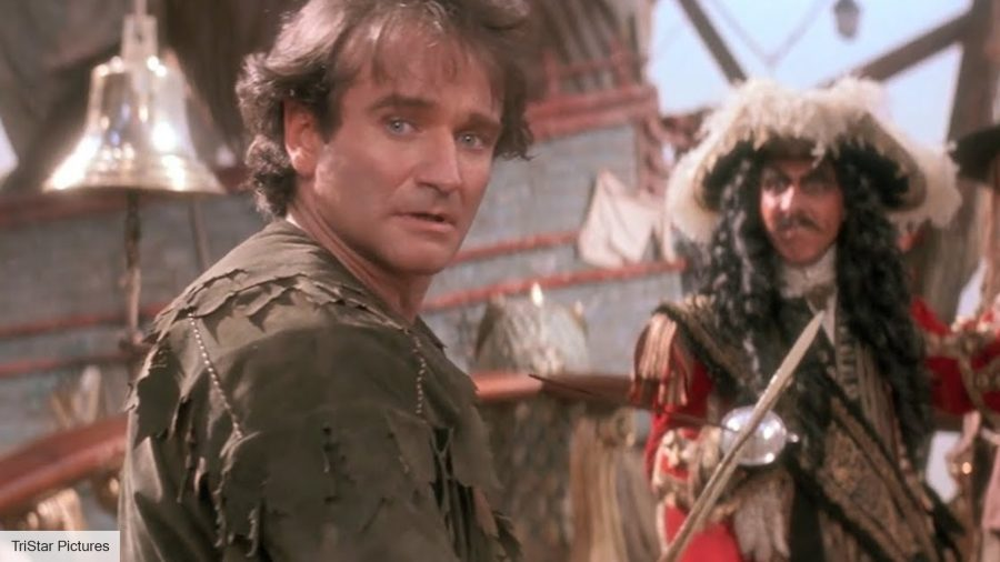 Hook star says that Robin Williams was just like the Genie from Aladdin in real life