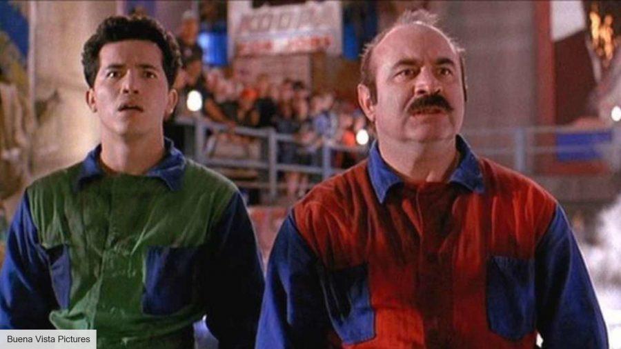 John Leguizamo and Bob Hoskins in Super Mario Bros