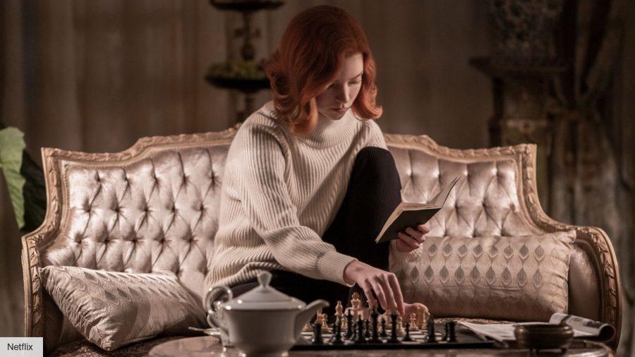 Anya Taylor-Joy in The Queen's Gambit on Netflix