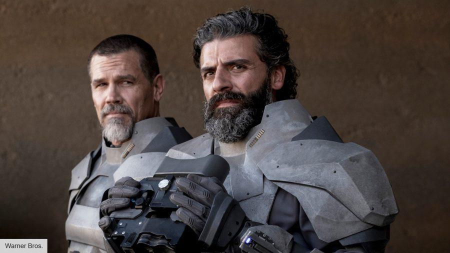 Josh Brolin and Oscar Isaac in Dune