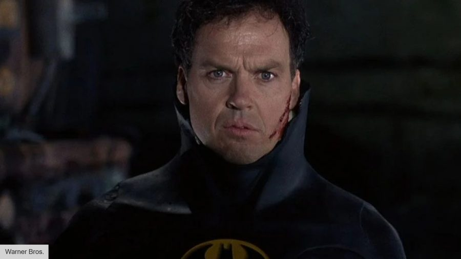 Michael Keaton still fits into the Batsuit after 30 years